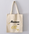Tote Bag - maman en or