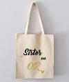 Tote Bag - sister en or