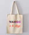 Tote Bag - Vamos a la playa