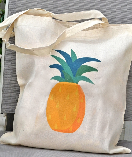 Tote Bag - Pineapple Ananas