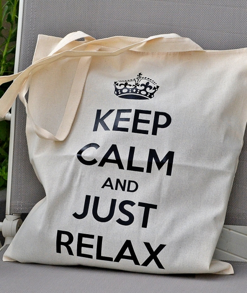 Tote Bag - Keep Calm and Just Relax