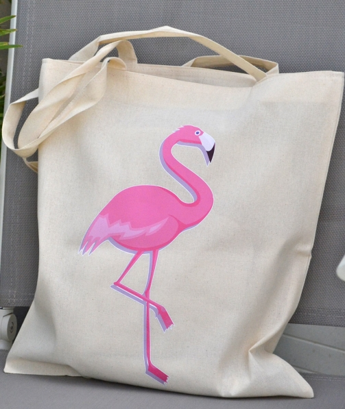 Tote Bag - Flamant Rose Flamingo