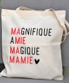 Tote Bag - Magnifique Amie Magique Mamie