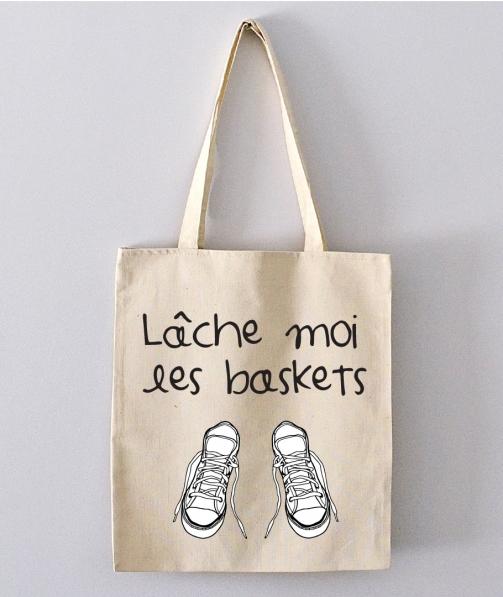 Tote Bag - Lâche moi les baskets