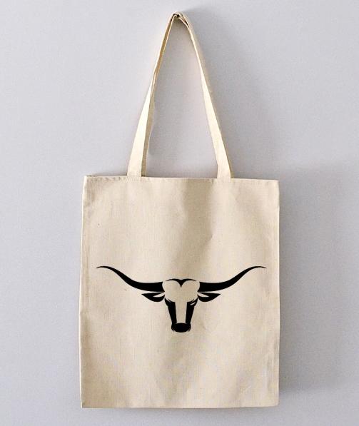 Tote Bag - Tête de taureau