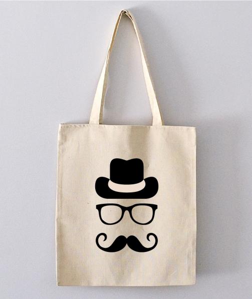 Tote Bag - Mr Moustache