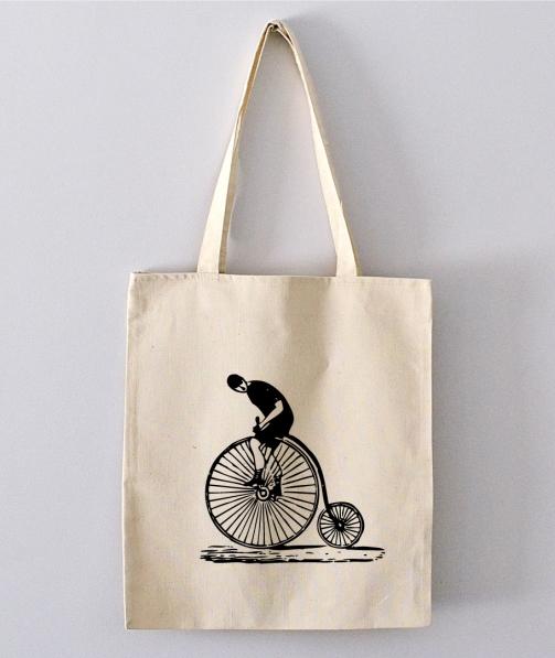 Tote Bag - Old Bicycle