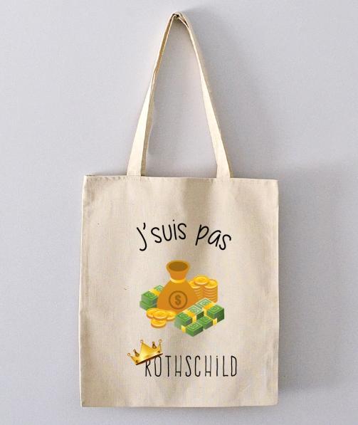 Tote Bag - J'suis pas Rothschild