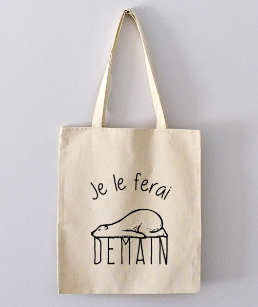 Tote Bag - Je le ferai demain