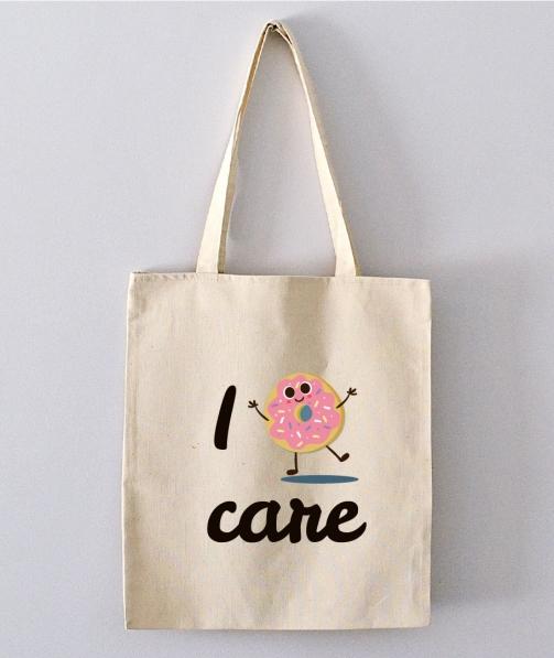 Tote Bag - I donut care
