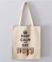Tote Bag - Keep calm and eat chocolate