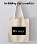Sac Tote Bag à personnaliser avec Image